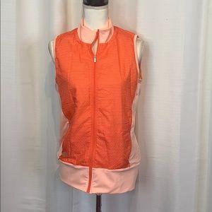 Adidas Technical Golf Wind Full Zip Vest